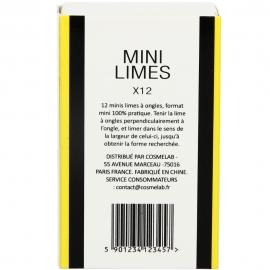 Mini limes à ongles x12 ACS dos