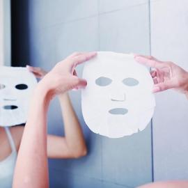 Masque visage tissu hydratation masque tissu sence