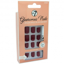 Faux ongles Glamorous - Garnet W7 packaging