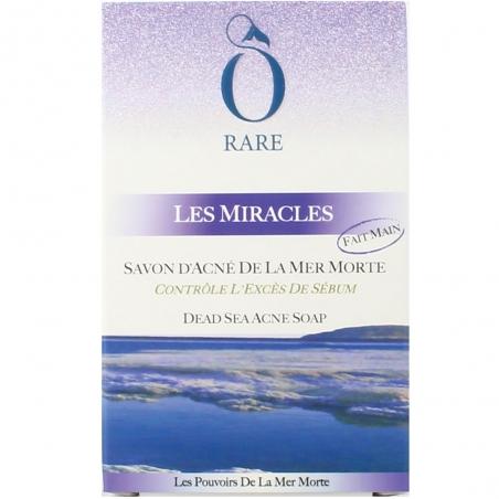 Boîte savon acne de la mer morte Les Miracles