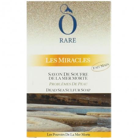 Emballage de savon de soufre de la mer morte