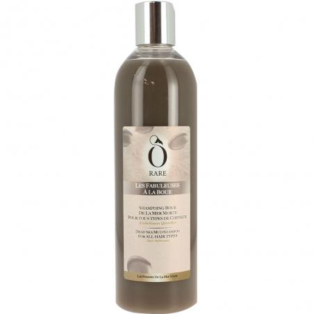 Bouteille de shampoing à la boue Les Fabuleuses de la marque Ô Rare