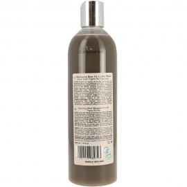 Bouteille de shampoing à la boue Les Fabuleuses de la marque Ô Rare vue dos