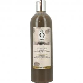 Bouteille de shampoing à la boue pour cheveux secs et abîmés de la marque Ô Rare