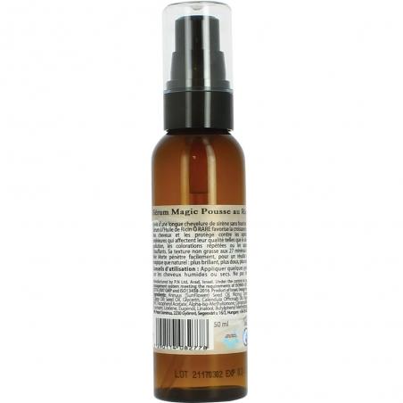 Bouteille de sérum à l'huile de ricin de la marque Ô Rare