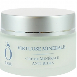 Pot de crème minérale anti-rides Virtuose Minérale de la marque Ô Rare