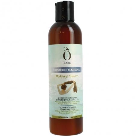"""Bouteille de shampoing anti-frizz """"Modelage Boucles"""" pour cheveux bouclés de marque Ô Rare"""