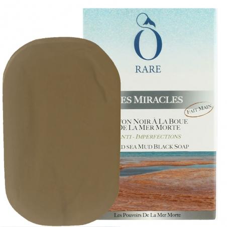 Pack de savon noir à la boue anti imperfection