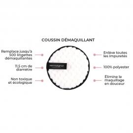 Description coussins démaquillants Dermalights