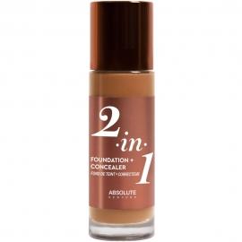 Fond de teint Correcteur 2-en-1 - Neutral walnut Absolute n-y packaging front