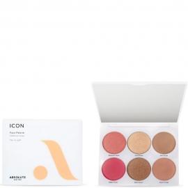 Palette visage Icon - Fair to Light Absolute new-york packaging, fards et miroir