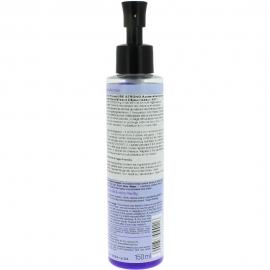 bouteille d'après shampoing violet déjaunisseur neutralisant Be strong de la marque selfie project vue dos