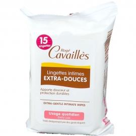 Lingettes intimes extra-douces X15 Rogé Cavaillès packaging front