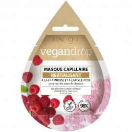 Masque capillaire Vegandrop - Revitalisant Marion packaging français