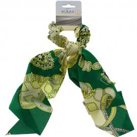 Chouchou foulard - Vert D'Ana