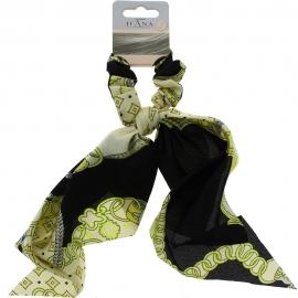 Chouchou foulard - Noir D'Ana
