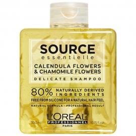 Bouteille de shampoing délicat source L'Oréal Pro