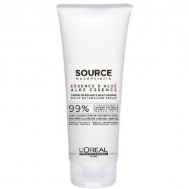 Bouteille de crème démêlante quotidienne Source de la marque L'Oréal Pro