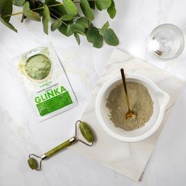 usage masque nettoyant glinka vegan