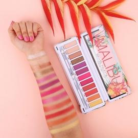 Palette make-up MALIBU Bys swatchs sur le bras