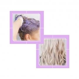 Shampoing violet...
