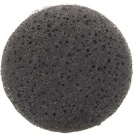 zoom éponge konjac au charbon
