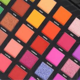 palette mardi gras de marque W7 - 40 fards