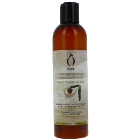 Bouteille d'après shampoing à l'huile de ricin - Magic pousse