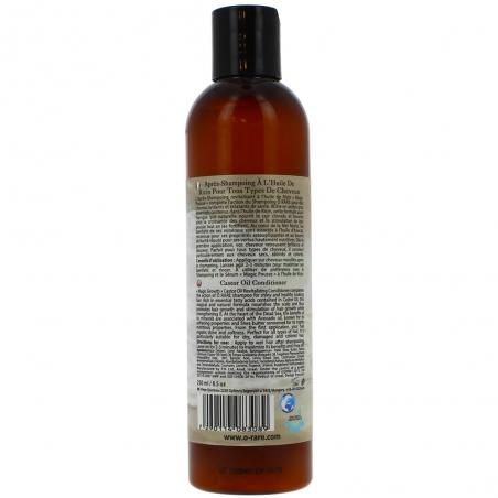 Bouteille d'après shampoing à l'huile de ricin - Magic pousse de dos