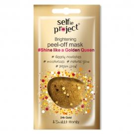 "Masque peel-off ""Shine like a Golden queen"" - Embellissant"