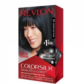 Coloration cheveux Colorsilk - 12 Blue black