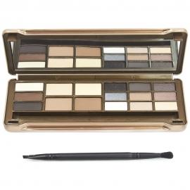 Palette contour brow & eyeshadow - Essentials ouvert