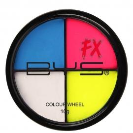 Palette 4 couleurs Fluo -...