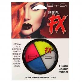 Palette 4 couleurs Fluo - Spécial FX