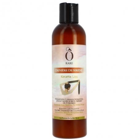Shampoing Keratin Liss - Cheveux secs, abîmés, ou colorés Ô Rare
