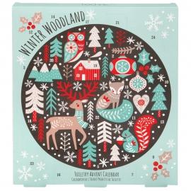 calendrier de l'avent beauté winter woodland fermé