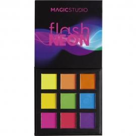 Palette 9 fards à paupières Flash Neon ouvert