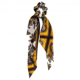 Chouchou foulard - Jaune