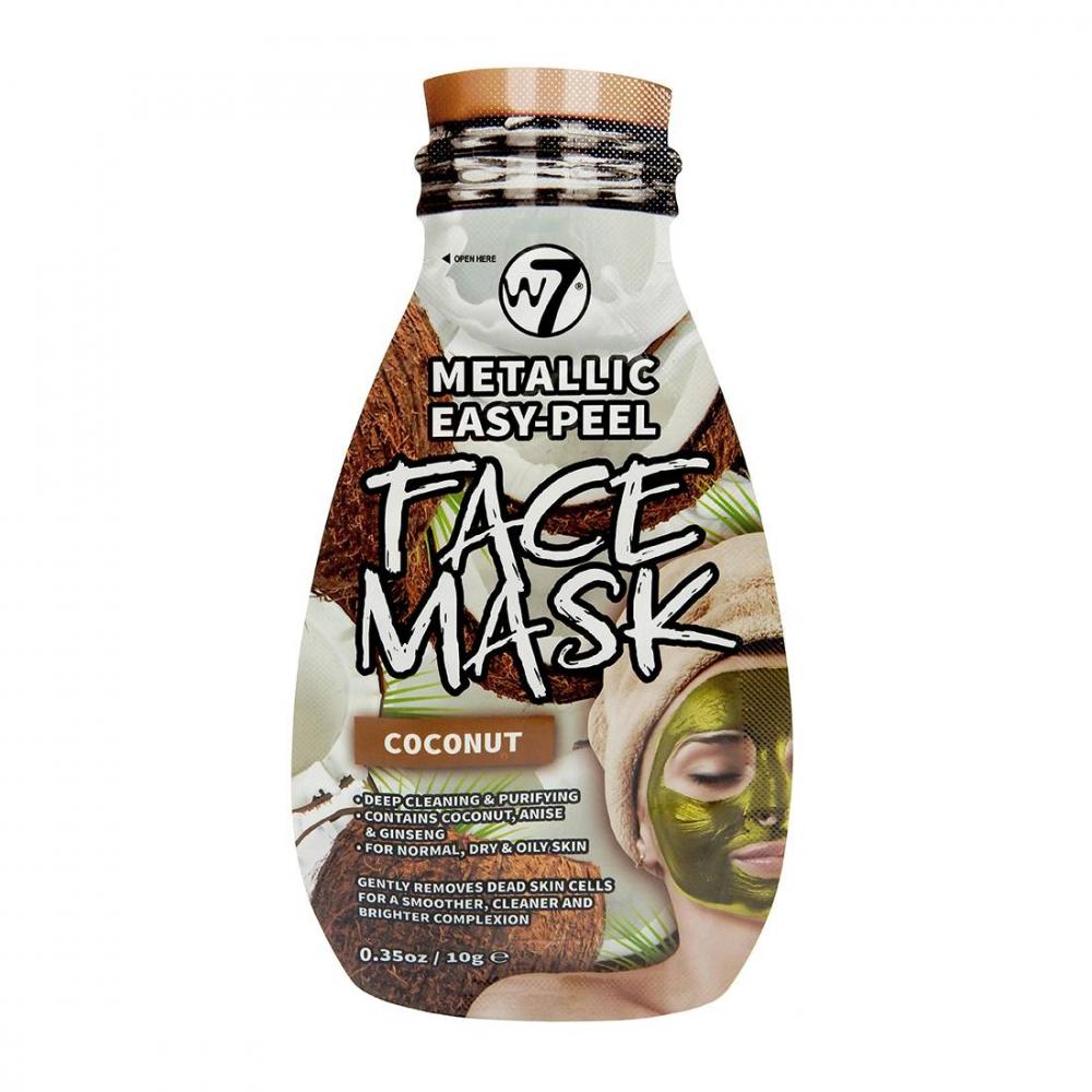 Masque peel-off metallic à la noix de coco de W7.