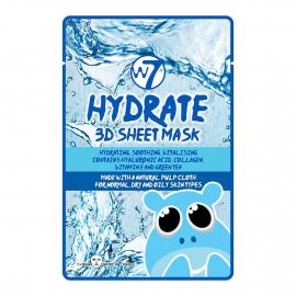 Masque visage tissu 3D hydrate