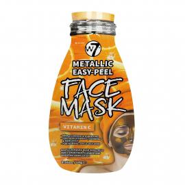 Masque peel-off metallic enrichie en Vitamine C de la marque W7.