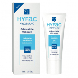 Crème riche Hydrafac pour peaux sèches à très sèches