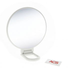 Miroir double face grossissant