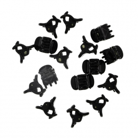 Pinces crabe noires x12 - ACS