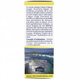 Savon anti-cellulite aux algues de la mer morte conseils