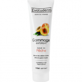 Gommage exfoliant Pêche evoluderm