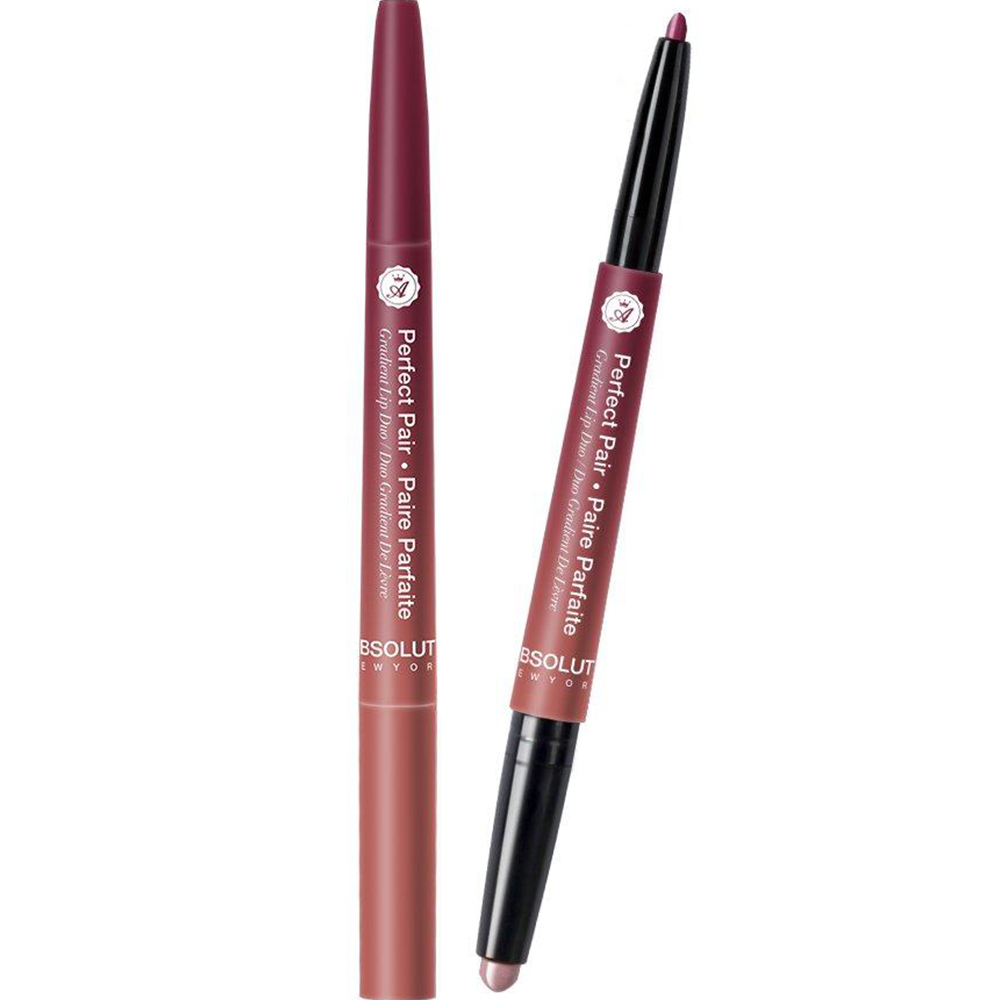 CRAYON LEVRES DUO EFFECT DEGRADE HOLLY - Absolute New York
