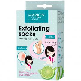 Chaussettes exfoliantes pour les pieds