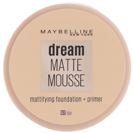 Fond de teint Dream matte mousse - 02 Fair