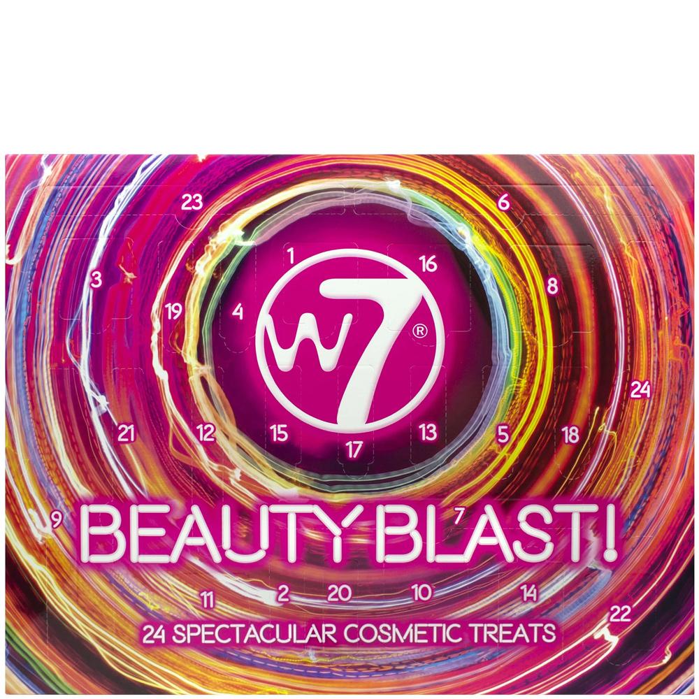 Calendrier 1977 Avec Les Jours.Calendrier De L Avent Beauty Blast W7 Saga Cosmetics